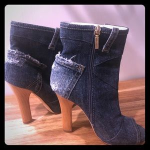 Dolce & Gabbana Jean pocket Booties